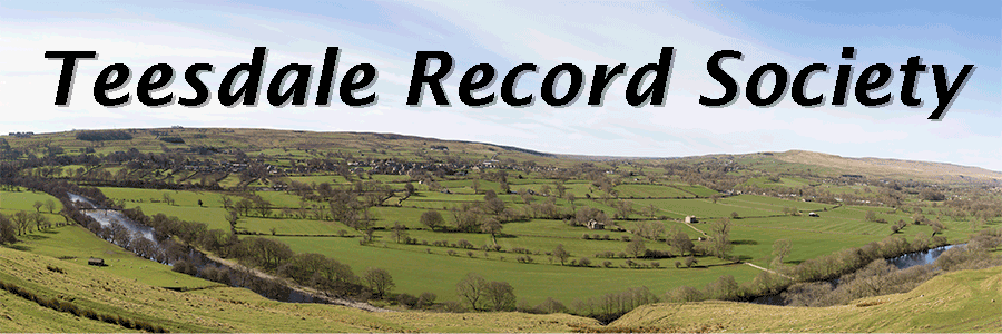 Teesdale Record Society eader picture